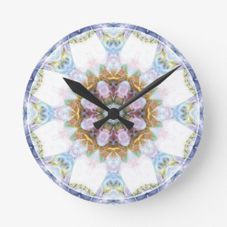 Mandalas from the Heart of Freedom 14 Gifts Round Clock