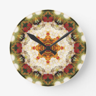 Mandalas from the Heart of Freedom 16 Gifts Round Clock