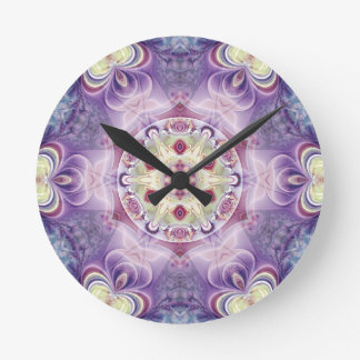 Mandalas from the Heart of Freedom 18 Gifts Round Clock