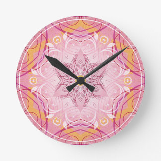 Mandalas from the Heart of Freedom 1 Gifts Round Clock
