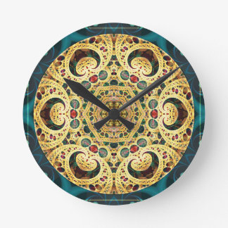 Mandalas from the Heart of Freedom 22 Gifts Round Clock