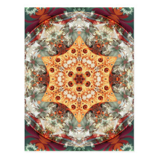 Mandalas from the Heart of Freedom 24 Postcard