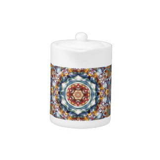 Mandalas from the Heart of Freedom 25 Gifts Teapot