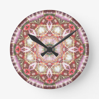 Mandalas from the Heart of Freedom 26 Gifts Round Clock