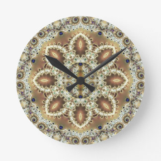 Mandalas from the Heart of Freedom 27 Gifts Round Clock