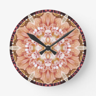 Mandalas from the Heart of Freedom 2 Gifts Round Clock