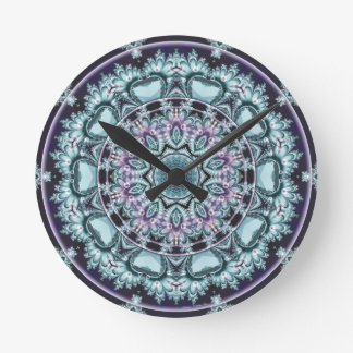 Mandalas from the Heart of Freedom 4 Gifts Round Clock
