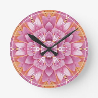 Mandalas from the Heart of Freedom 5 Gifts Round Clock