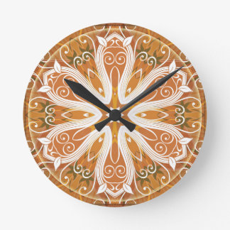 Mandalas from the Heart of Freedom 6 Gifts Round Clock