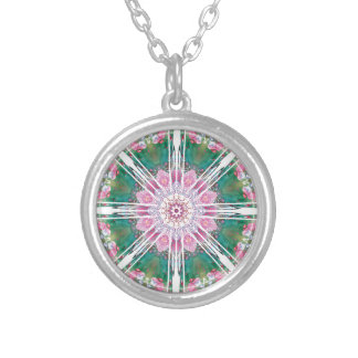 Mandalas from the Heart of Freedom 7 Gifts Silver Plated Necklace