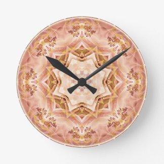 Mandalas from the Heart of Freedom 8 Gifts Round Clock