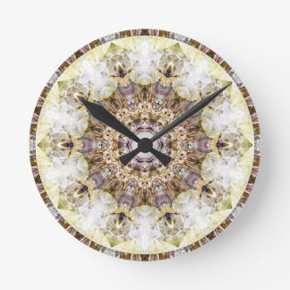 Mandalas from the Heart of Freedom 9 Gifts Round Clock