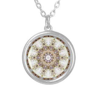 Mandalas from the Heart of Freedom 9 Gifts Silver Plated Necklace