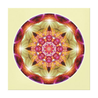 Mandalas from the Heart of Peace, No. 1, Canvas Canvas Print