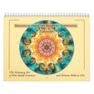 Mandalas from the Heart of Surrender Calendar 2015