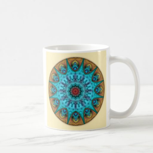 Mandalas from the Heart of Surrender, No. 6, Mug