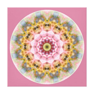 Mandalas from the Heart of Transformation, No. 1 Canvas Print