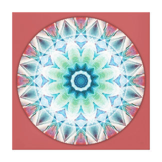 Mandalas from the Heart of Transformation, No. 3 Canvas Print
