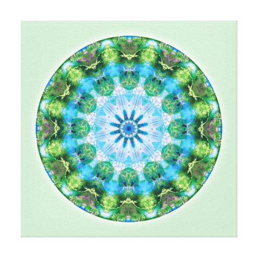 Mandalas from the Heart of Transformation, No. 6 Canvas Print