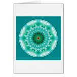 Mandalas from the Heart of Truth, No. 1 Greeting Card