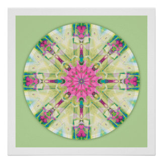 Mandalas from the Heart of Truth: No. 3 Poster
