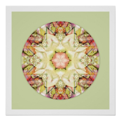 Mandalas from the Heart of Truth: No. 5 Poster
