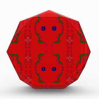 Mandalas luxury Arabic Ornamental Acrylic Award
