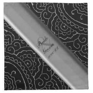 Mandalas magníficas de Mehndi Servilletas Imprimidas