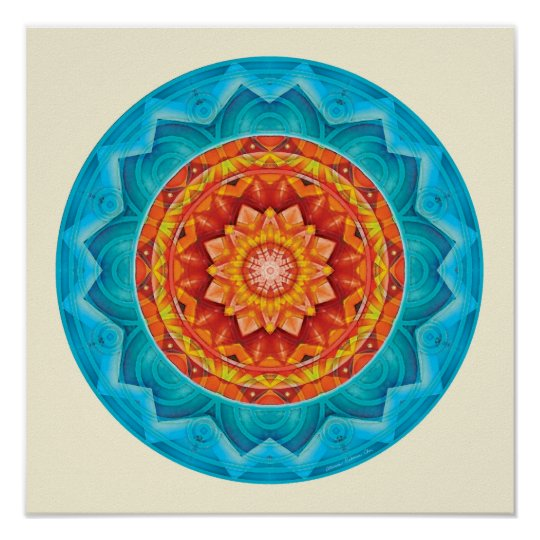 Mandalas of Deep Trust, No. 8 Poster