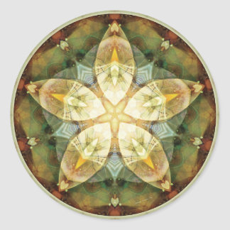 Mandalas of Forgiveness and Release 1 Classic Round Sticker