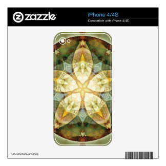 Mandalas of Forgiveness and Release 1 Skins For iPhone 4