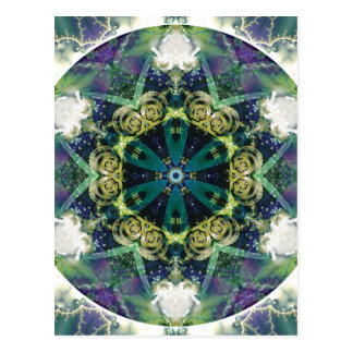 Mandalas of Forgiveness and Release 20 Poster Postcard
