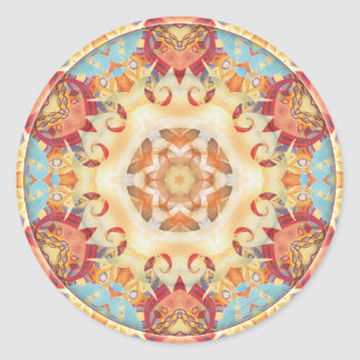 Mandalas of Forgiveness and Release 2 Classic Round Sticker