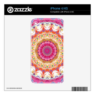 Mandalas of Forgiveness and Release 3 iPhone 4 Decals