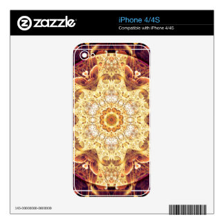 Mandalas of Forgiveness and Release 4 Skin For The iPhone 4S