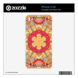 Mandalas of Forgiveness and Release 5 Decal For The iPhone 4S