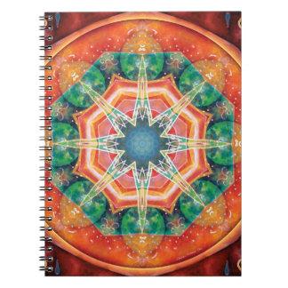 Mandalas of Forgiveness & Release 18 Notebook