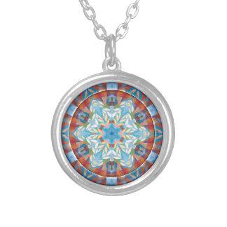Mandalas of Forgiveness & Release 19 Round Pendant Necklace