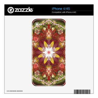 Mandalas of Forgiveness & Release 22 Decal For iPhone 4