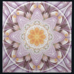 "Mandalas of Forgiveness &amp; Release 27 Napkin<br><div class=""desc"">This product is made from a visionary,  digital,  fine art image created by Atmara Rebecca Cloe and New World Creations. Mandalas are a specialty. Personal mandalas are available from http://www.nwcreations.com/personal-mandalas</div>"