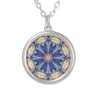 Mandalas of Forgiveness & Release 8 Round Pendant Necklace