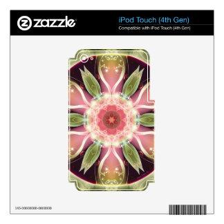 Mandalas por épocas de los regalos de la calcomanías para iPod touch 4G