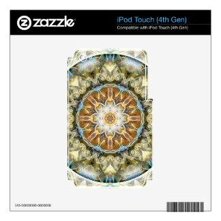 Mandalas por épocas de los regalos de la iPod touch 4G calcomanías