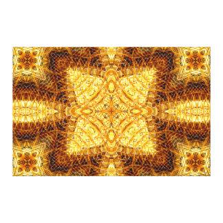 """Mandalay Inlay Mandala"" Canvas Print"