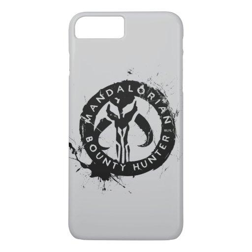 Mandalorian Bounty Hunter Inked Icon iPhone 8 Plus/7 Plus Case