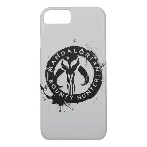 Mandalorian Bounty Hunter Inked Icon iPhone 8/7 Case