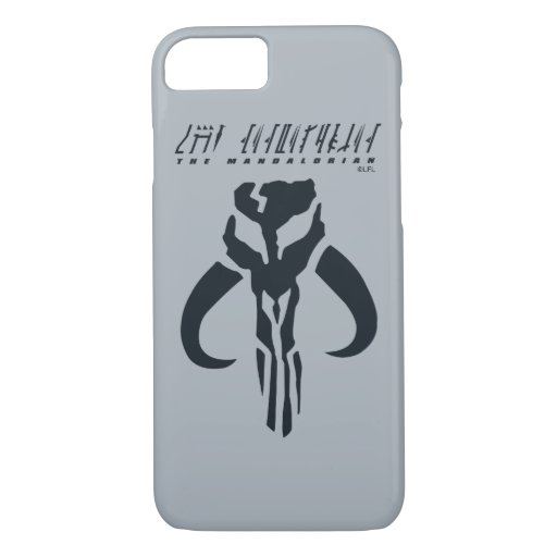 Mandalorian Symbol iPhone 8/7 Case