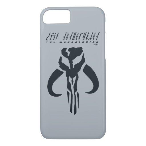 Mandalorian Symbol iPhone 8/7 Case