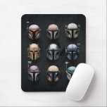 "Mandalorians Helmets Mouse Pad<br><div class=""desc"">Mandalorians Helmets 