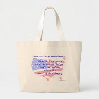 Mandamiento Democratic individual #2 Bolsa
